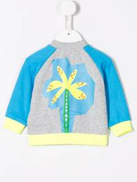 Stella McCartney Kids - куртка-бомбер с принтом 663SMJ65938033930000
