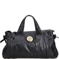 Gucci Black Leather Hysteria Everyday Bag