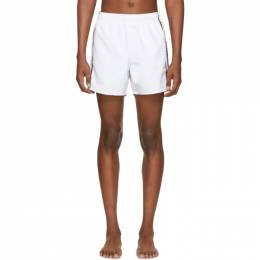 Hugo White Anguilla Swim Shorts 192084M20800103GB