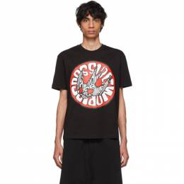MCQ by Alexander McQueen Black Swallow Graphic T-Shirt 192114M21300606GB
