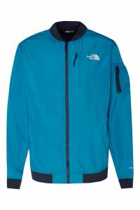 Бирюзовый бомбер с логотипами The North Face 2717129141