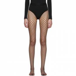 Wolford Black Forties Tights 192017F07603002GB