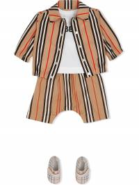 Burberry Kids - жакет в полоску Icon Stripe 59009563393500000000