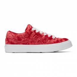 Converse Red Golf le Fleur* One Star OX Sneakers 192799M23701508GB