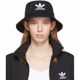 Adidas Originals Black Adicolor Bucket Hat 192751F01500101GB