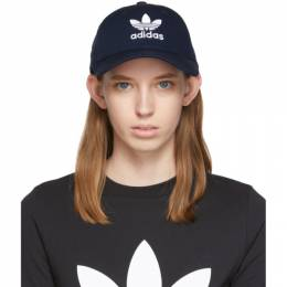 Adidas Originals Navy Trefoil Baseball Cap 192751F01600301GB