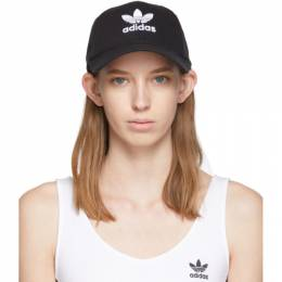 Adidas Originals Black Trefoil Logo Cap 192751F01600101GB