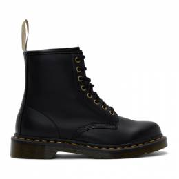 Dr. Martens Black Vegan 1460 Boots 192399M25500905GB