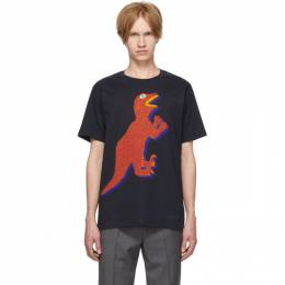 Ps by Paul Smith Navy Dino Regular Fit T-Shirt 192422M21302406GB