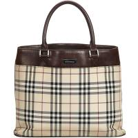 Burberry Brown Nova Check Canvas Everyday Bag