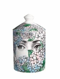 Ortensia Flora Scented Candle With Lid Fornasetti 69IWUZ004-TVVMVElDT0xPUg2