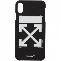 Off-White Black and White Arrow iPhone Max Case 192607F03200201GB