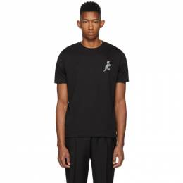 Ps by Paul Smith Black Regular Fit Dino T-Shirt 192422M21302305GB