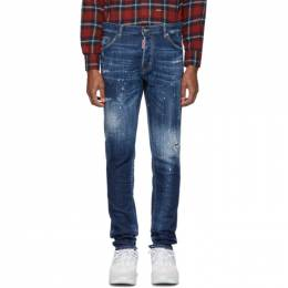 Dsquared2 Blue Cool Guy Jeans 192148M18600702GB