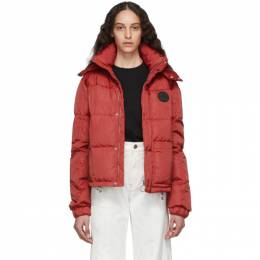 Off-White Red Puffer Jacket 192607F06100203GB