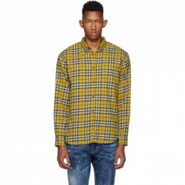 Dsquared2 Yellow Relax Dan Shirt 192148M19200503GB
