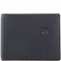 Piquadro Navy Blue Leather Bifold Wallet 169818
