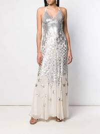 Temperley London - платье 'Starlet' с пайетками SAR56939936583880000