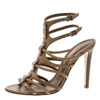 Gianvito Rossi Brown Leather Strappy Sandals Size 39