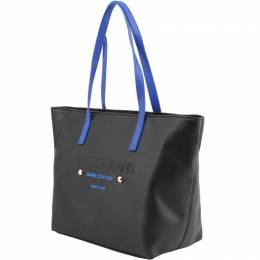 Versace Jeans Two Tone Faux Leather Shopper Tote 161999