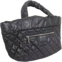 Chanel Black Quilted Nylon Coco Cocoon Hobo Bag