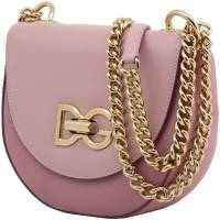 Dolce & Gabbana Pink Leather Media Wifi Shoulder Bag