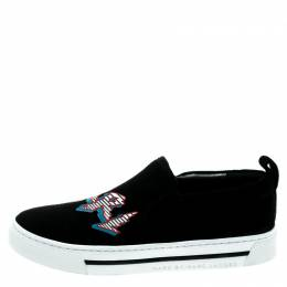 Marc By Marc Jacobs Black Suede GRRL Slip On Sneakers Size 35 180021