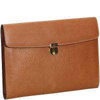 Gucci Brown Leather Clutch Bag