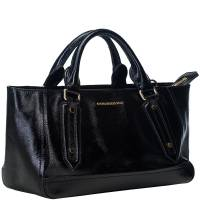 Burberry Black Leather Somerford Tote Bag