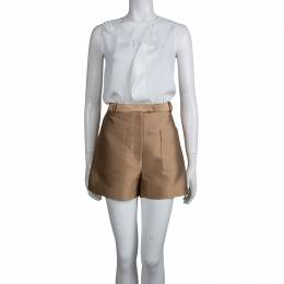 3.1 Phillip Lim Bronze Patch Pocket Detail Shorts M 74644