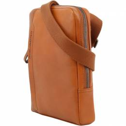 Piquadro Brown Leather Messenger Bag 167773