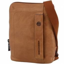 Piquadro Brown Leather Messenger Bag 194629