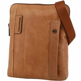 Piquadro Brown Leather Messenger Bag 196816