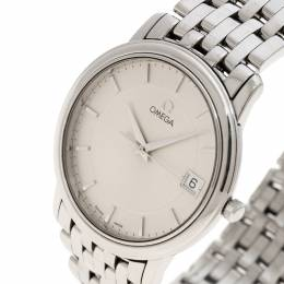 Omega Silver Stainless Steel De Ville 196.1150 Men's Wristwatch 34 mm 136126