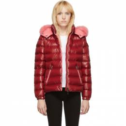 Moncler Red Down Bady Jacket 192111F06103301GB