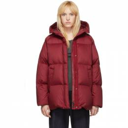 Moncler Red Down Nerum Jacket 192111F06104006GB