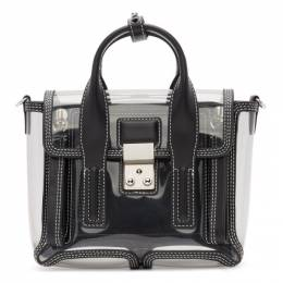 3.1 Phillip Lim Transparent Nano Pashli Satchel Bag