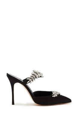 Черные туфли Lurum 105 Manolo Blahnik 166137382