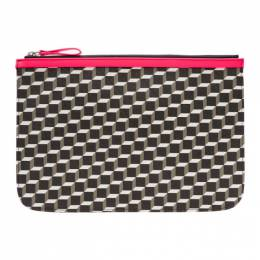 Pierre Hardy Pink Large Cube Pouch 192377F04500201GB