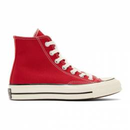 Converse Red Chuck 70 High Sneakers 192799F12701306GB