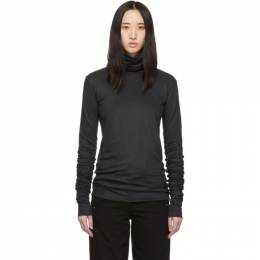 Lemaire Grey Jersey Turtleneck 192646F09900205GB
