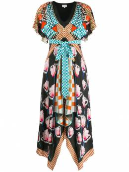 Temperley London - платье с принтом ARB53966959638980000