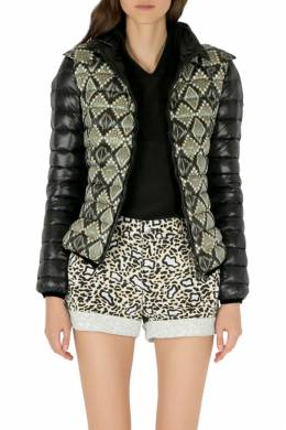 Etro Black Aztec Print Detachable Hood Detail Puffer Jacket M 205974