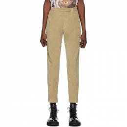 Dsquared2 Beige Hockney Fit Trousers 192148M19100202GB