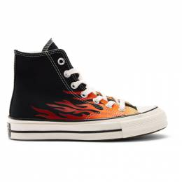 Converse Black Flame Chuck 70 High Sneakers 192799F12702003GB