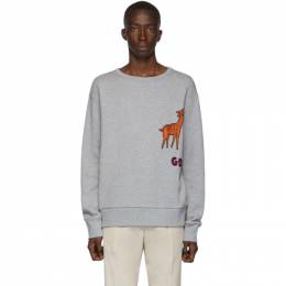 Gucci Grey Mr. Peanut Sweatshirt