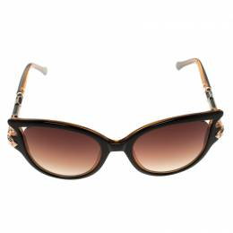 Roberto Cavalli Brown RC981/S Cat Eye Sunglasses