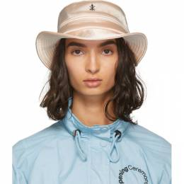 Opening Ceremony Pink Satin Bucket Hat 192261F01500202GB