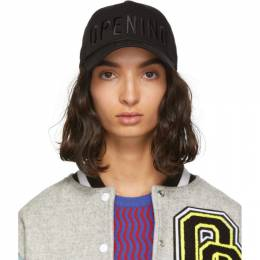 Opening Ceremony SSENSE Exclusive Black New Era Edition 49Forty Logo Cap 192261F01600601GB