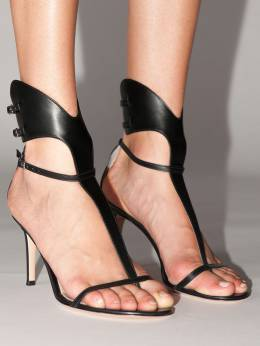 105mm Leather Sandals Gianvito Rossi